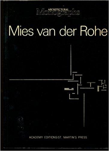 Mies van der Rohe: European Works