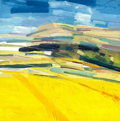 South Downs with Yellow