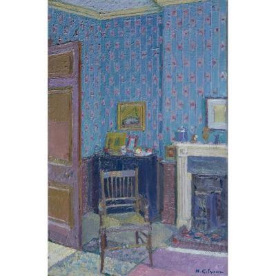 Interior (Blue)