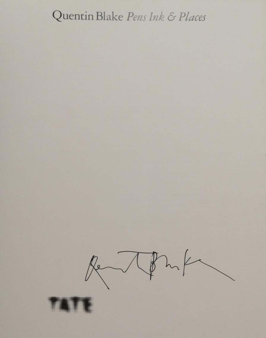 Quentin Blake Signature
