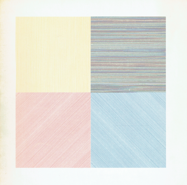Sol Lewitt. Four basic colours and their combinations