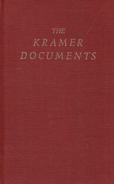 The Kramer Documents