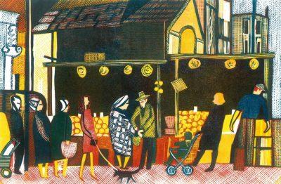Street Market by Rupert Shephard