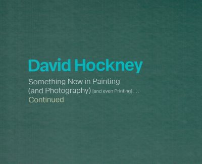 David Hockney Something New