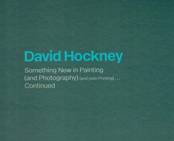 David Hockney Something New