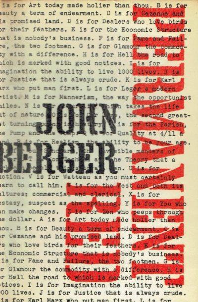 John Berger Permanent Red