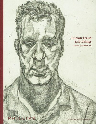 Lucian Freud 32 Etchings