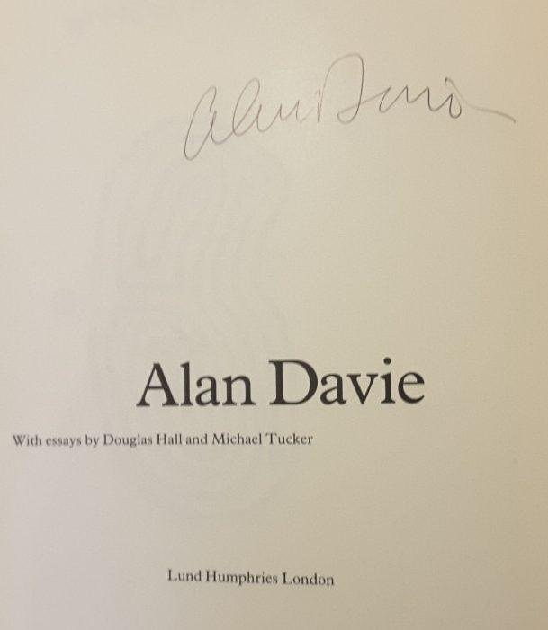 Alan Davie Signature