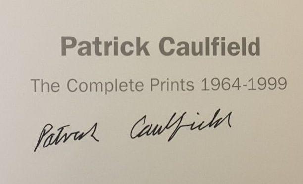 Patrick Caulfield Signature