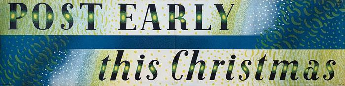 post early christmas