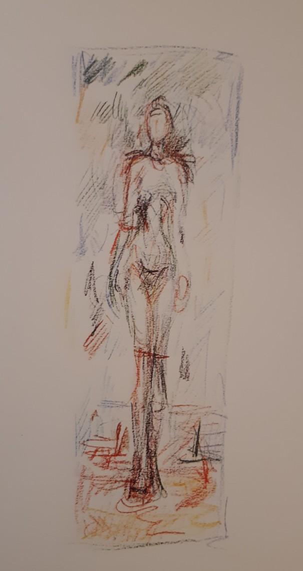 Giacometti Standing Woman