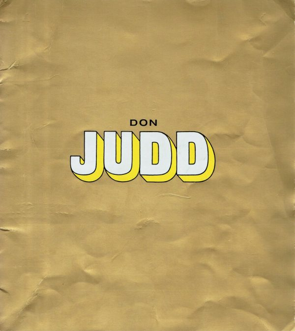 Don Judd