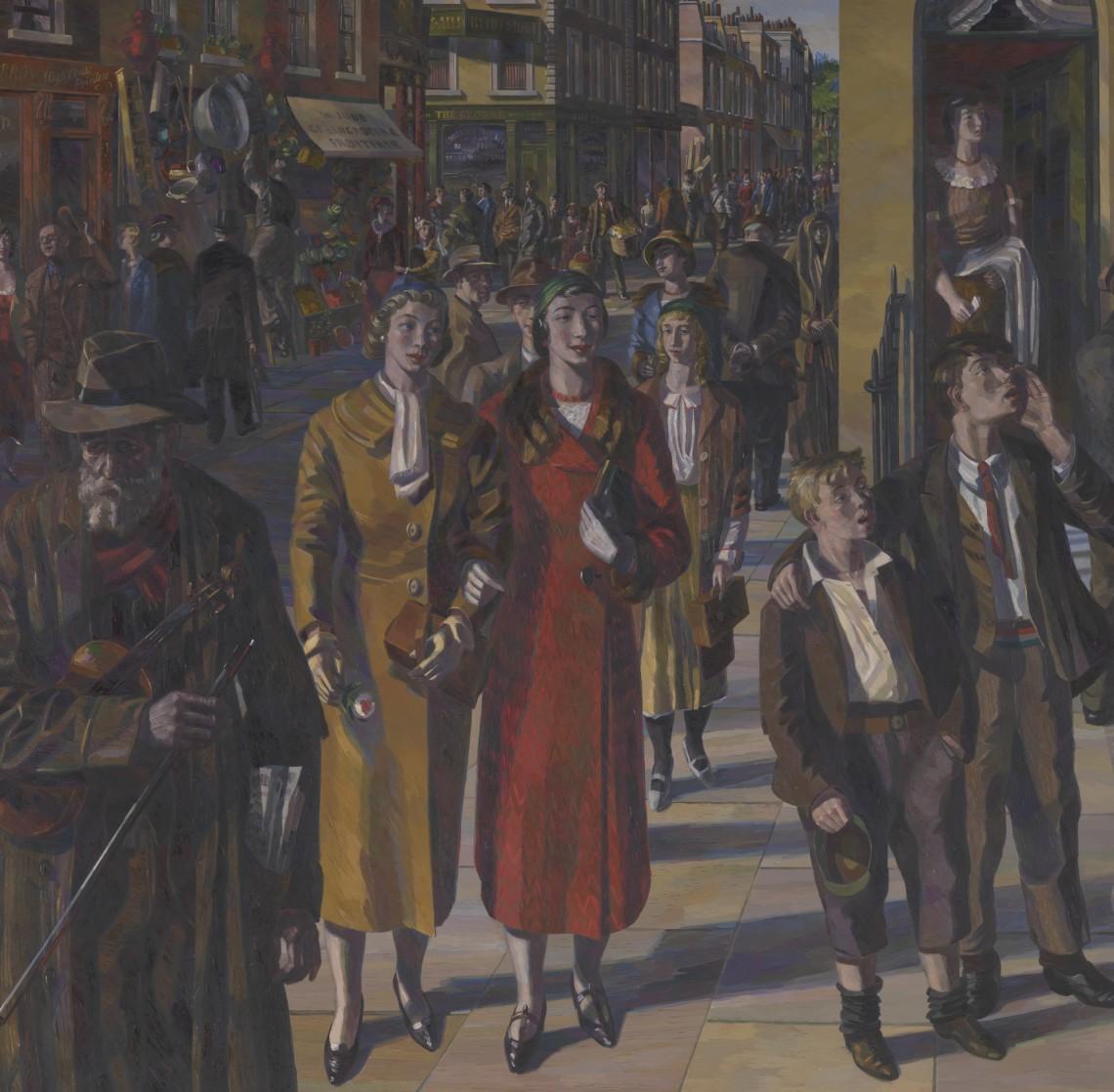 Street Scene by Barnett Freedman