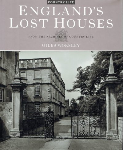 England's Lost Houses