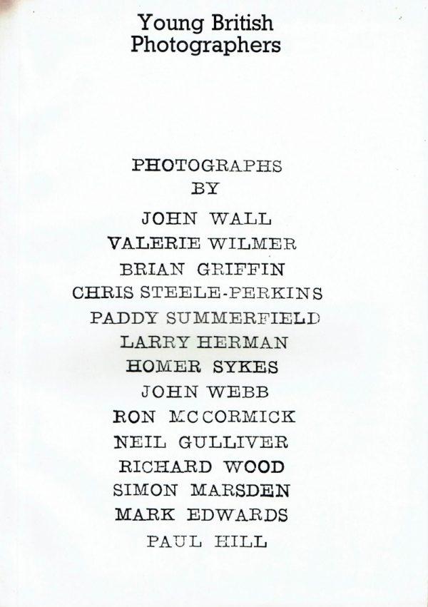 Young British Photographers