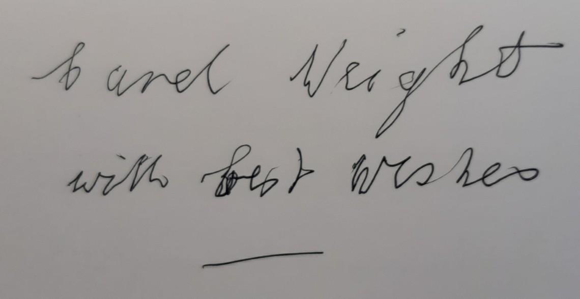 Carel Weight Signature