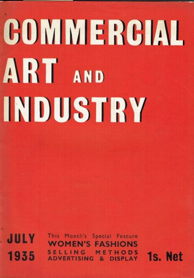 Commercial Art and Industry 1935