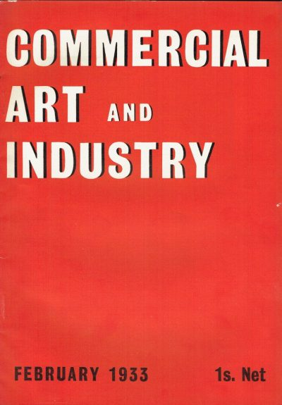 Commercial Art and Industry February 1933