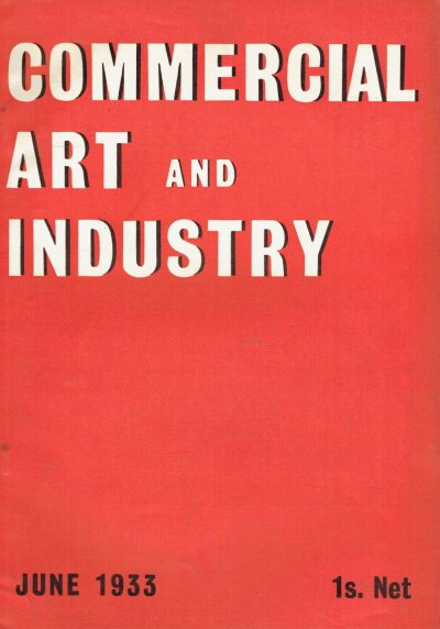 Commercial Art and Industry June 1933