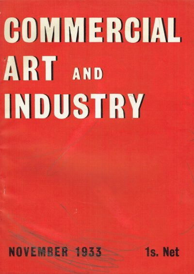 Commercial Art and Industry November 1933