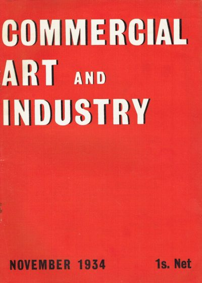 Commercial Art and Industry November 1934