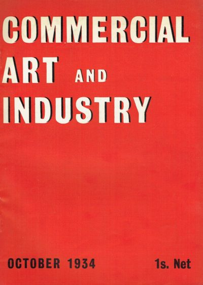 Commercial Art and Industry October1934