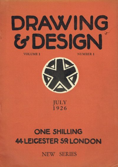 Drawing and Design Volume 1 Number 1