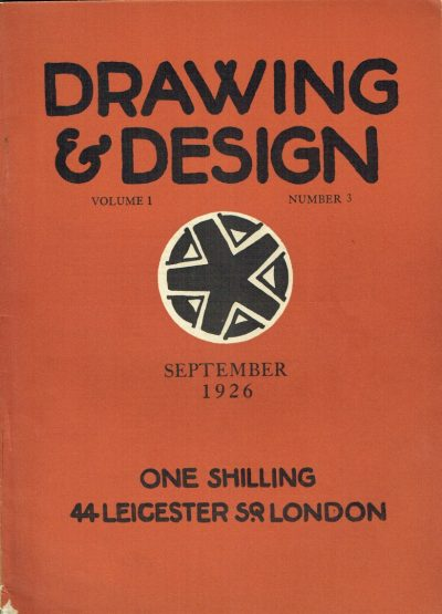 Drawing and Design Volume 1 Number 3