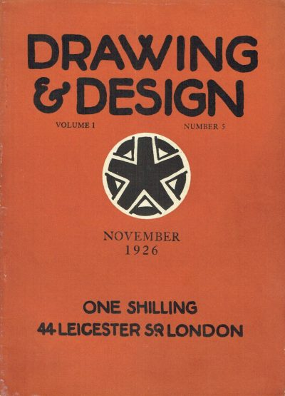 Drawing and Design Volume 1 Number 5
