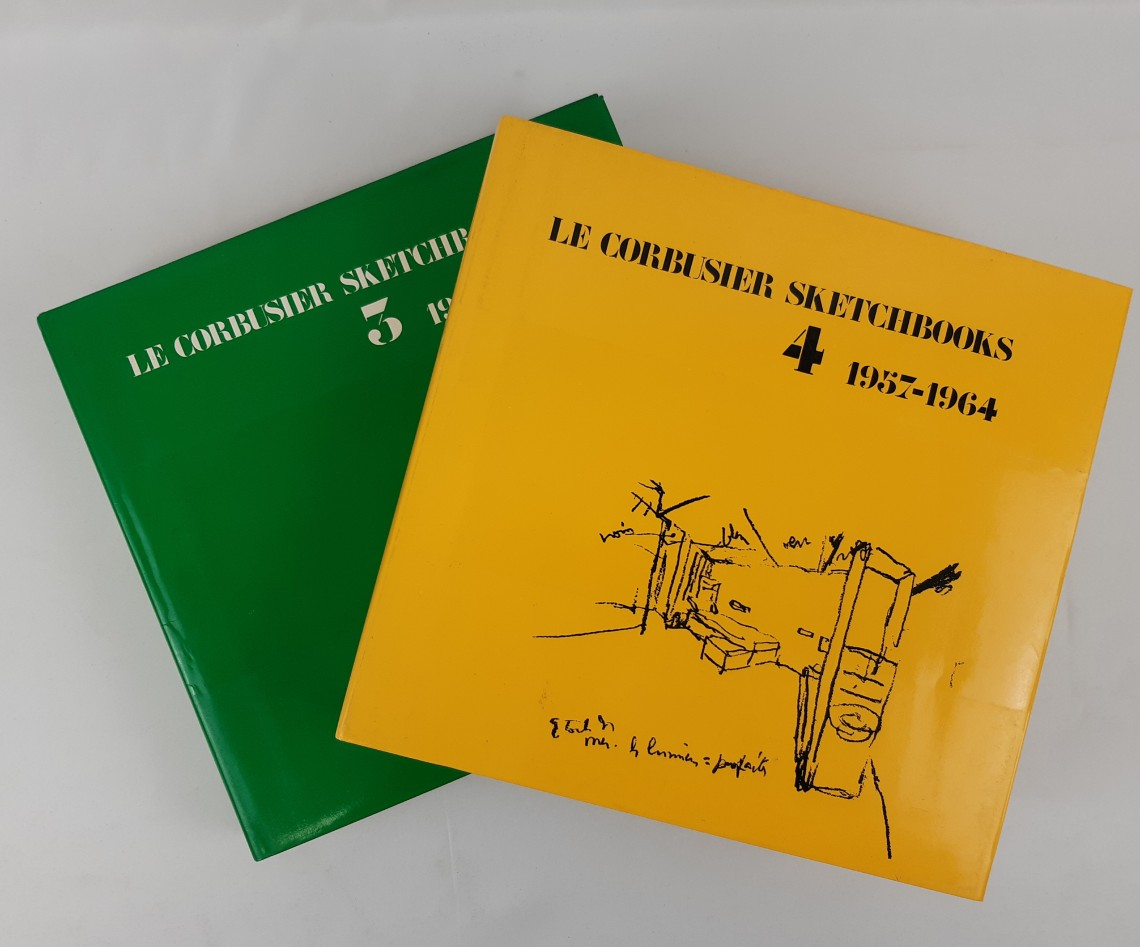 Le Corbusier Sketchbook 3 and 4