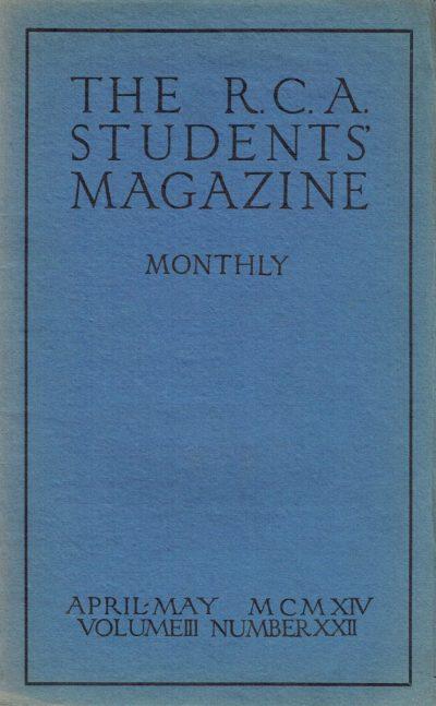 RCA Magazine Vol 3 No 22