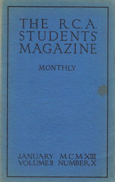 RCA Students Magazine Vol 1, No 6