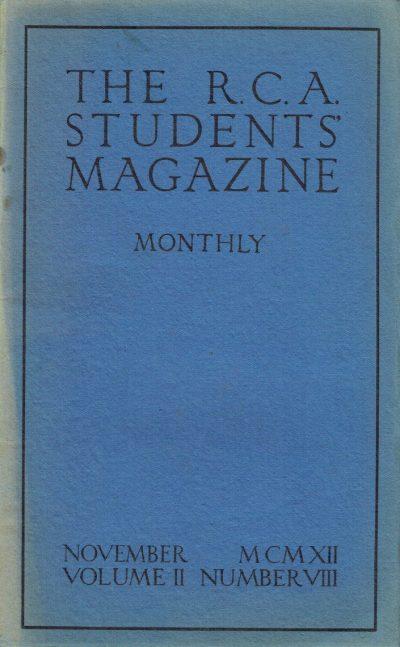 RCA Students Magazine Vol 2 No 8