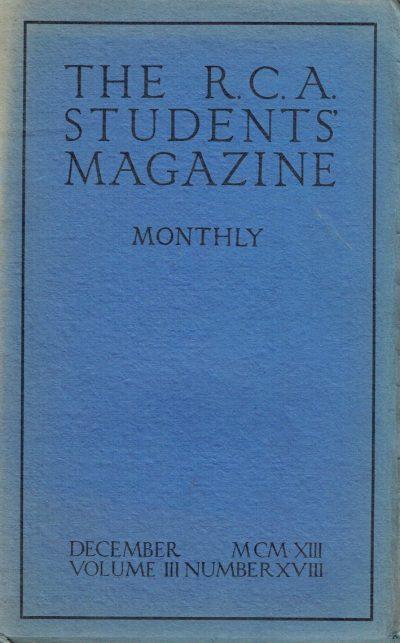 RCA Students Magazine Vol 3 No 18