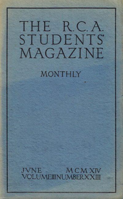 RCA Students Magazine Vol 3, No 23
