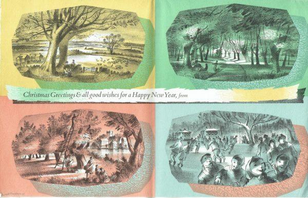 Christmas Card 1955