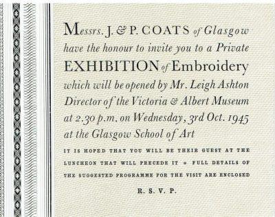 Invitation by Barnett Freedman