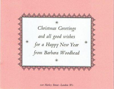 Christmas Card by Barnett Freedman