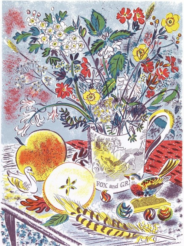 Fox and Grapes Print