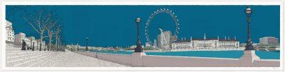 London River Thames by Tower Bridge