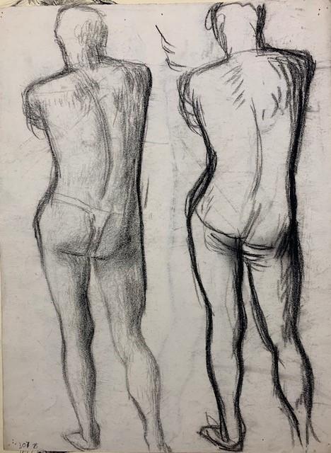 standing figures by barnett freedman