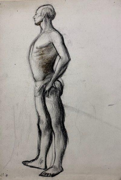 standing figure by barnett freedman