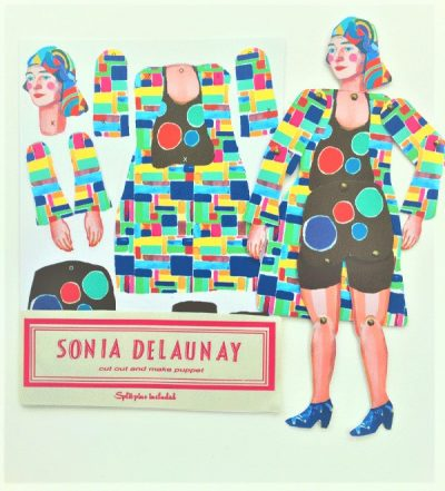 Sonia Delaunay Cut & Make Puppet