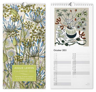 angie lewin calendar
