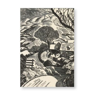 Snow on Radnor Hills Card by Iain Macnab (Pack of 10)