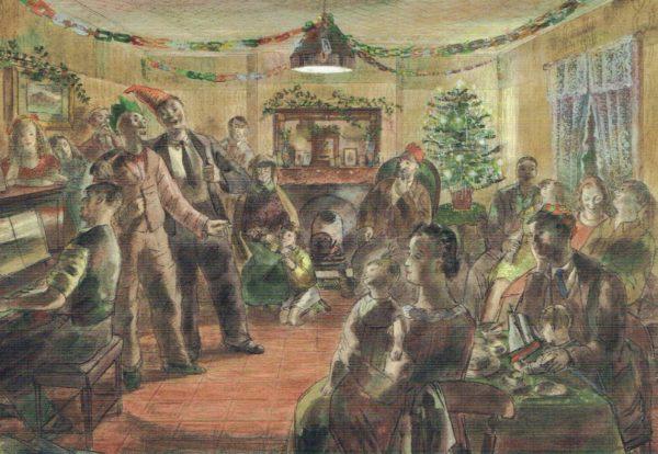 Barnett Freedman Christmas