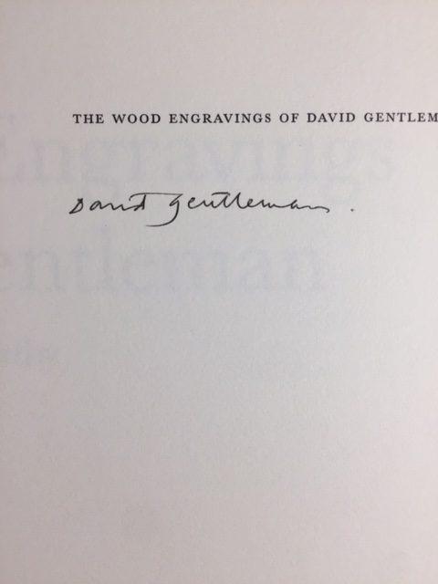 Signature David Gentleman