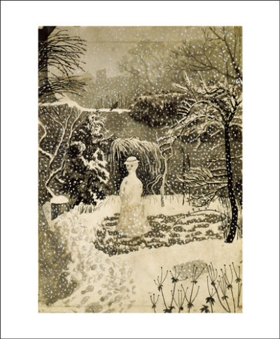 snow woman by tirzah garwood
