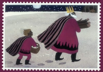 MARY FEDDEN CHRISTMAS CARD
