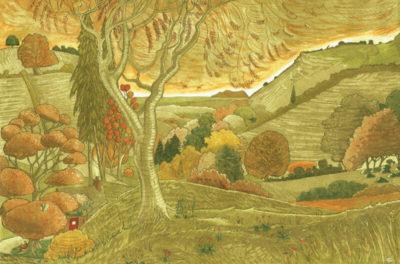 Reading Dark Mountain (Golden)